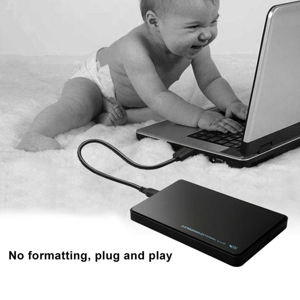 USB 3.0/2.0 2.5 אינץ SATA HDD החיצוני SSD דיסק קשיח נייד כונן מקרה תיבת עבור מחשב