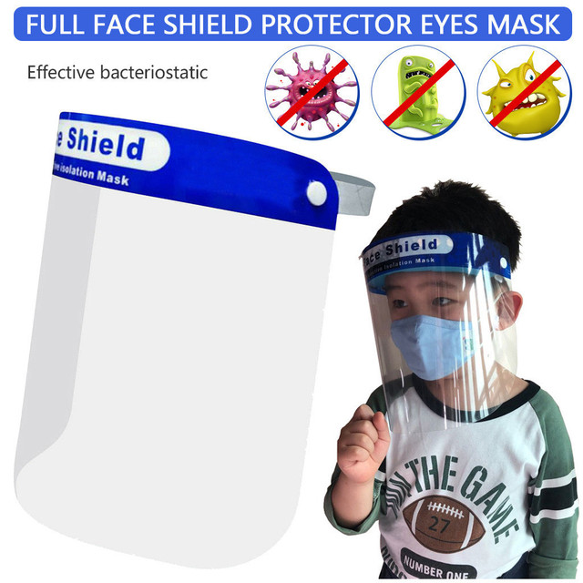 Anti-Saliva Dustproof Mask Transparent Safety Faces Shields Screen Spare Visors Head Face Respiratory Tract Protection Masques 1