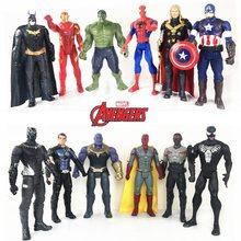 Figurines de Super héros, jouets Disney Marvel, The Avenger Endgame, 30CM, Thor, Hulk, Thanos, Wolverine, Spider Man, Iron Man