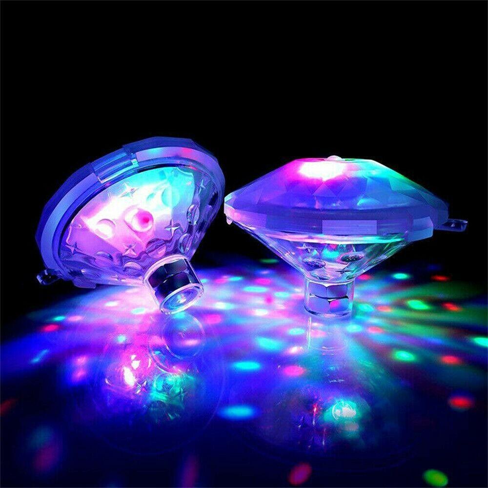 Galleggiante Luce Subacquea di RGB Lampada Sommergibile HA CONDOTTO LA Luce Della Discoteca Glow Mostra Piscina Vasca Da Bagno di Luce A Batteria