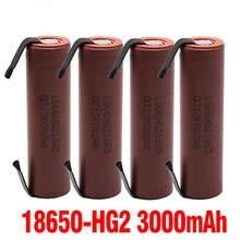 100% nova hg2 18650 bateria 3000 mah 3.6 v entladung 20a, gewidmet para hg2 batterien + níquel diy