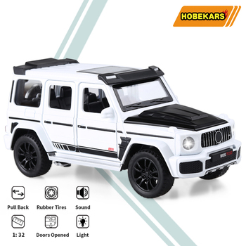 HOBEKARS 1:32 Diecast Model Car Toy Vehicles Alloy Metal G700 Simulation Luxury Commercial Vehicle For Collection Decoration new arrival gift lp700 matte 1 18 model car collection alloy diecast scale table top metal vehicle sports race decoration toy
