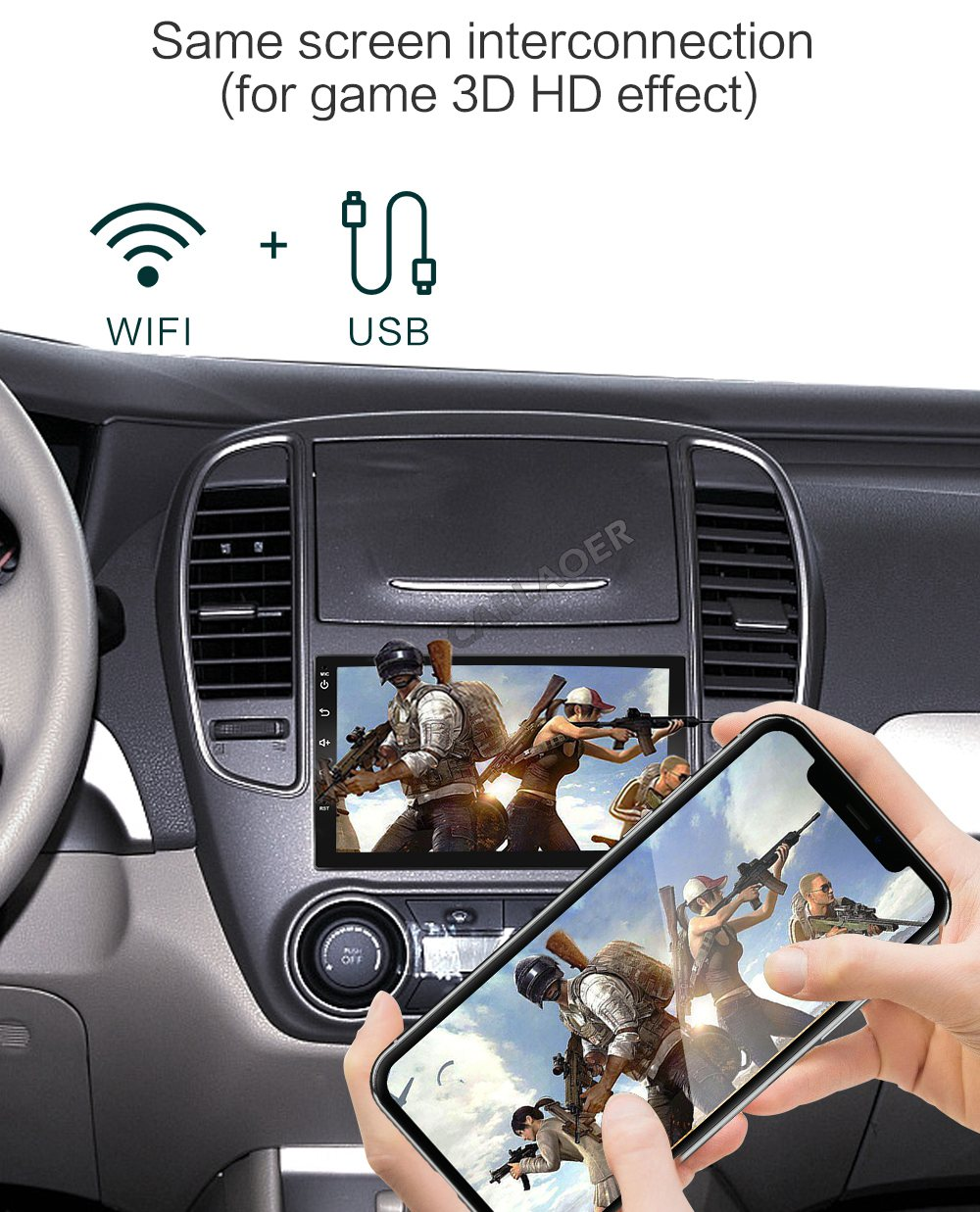 2din car android radio player- (6)