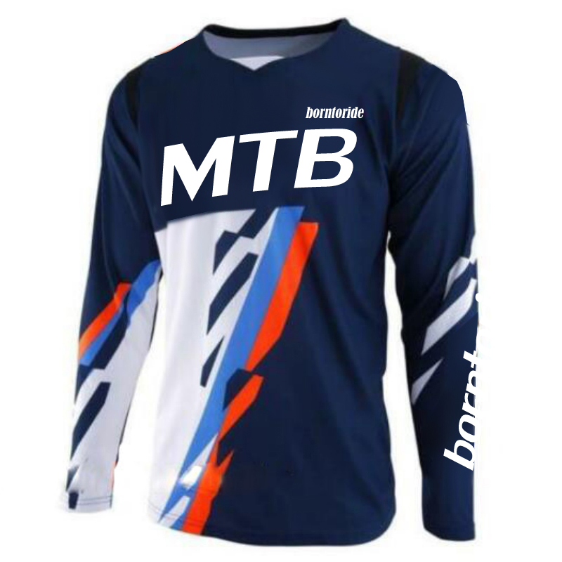 Race Jersey Men's Motocross/MX/ATV/BMX/MTB Dirt Bike Adult Off-Road Motorcycle Racing T shirt