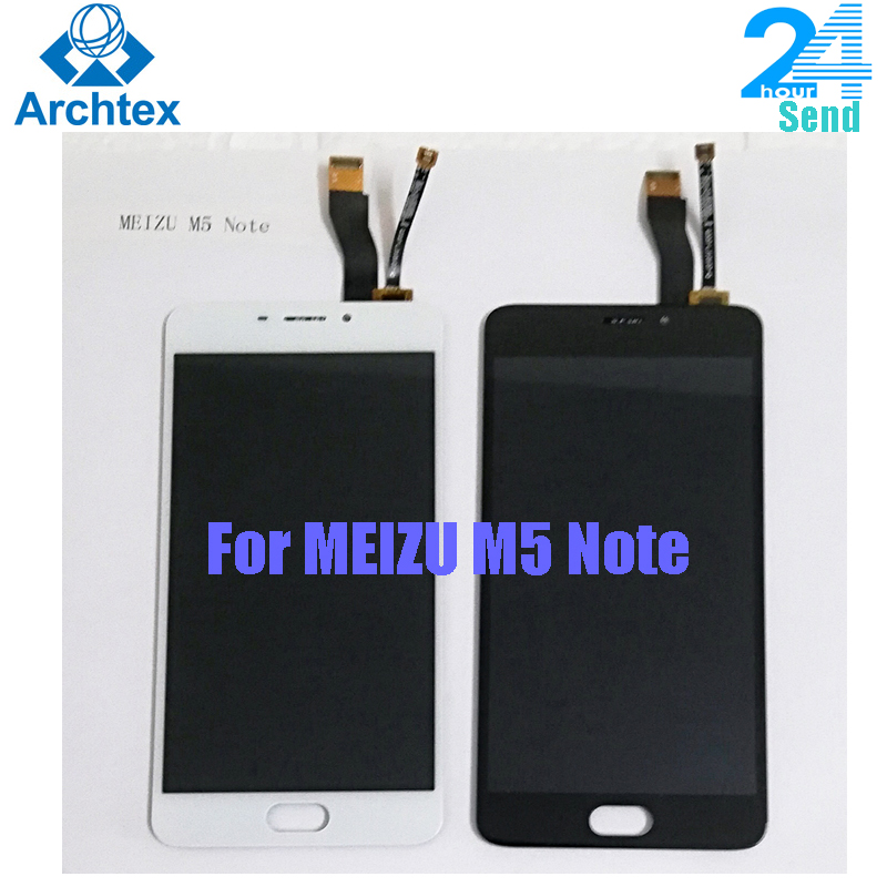 For MEIZU M5 NOTE M621H M621M <font><b>M621Q</b></font> LCD Display + Touch Screen Digitizer Assembly Replacement With Frame 5.5 inch 1920*1080P image