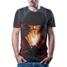 2020 New Male Joker T -Shirt Printing Quick Drying Summer Shirt T -Shirt Short Sleeve Fun Shirt