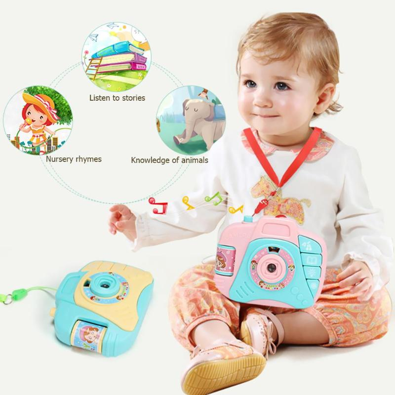 Mini Children Electric Simulation Sound Light Camera Toys ABS Portable Originality No Memory Cartoon Baby Educational Gifts