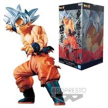 Dolls Figurals Action-Figure Goku Ultra-Instinct Super-Maximatic Original Banpresto Model