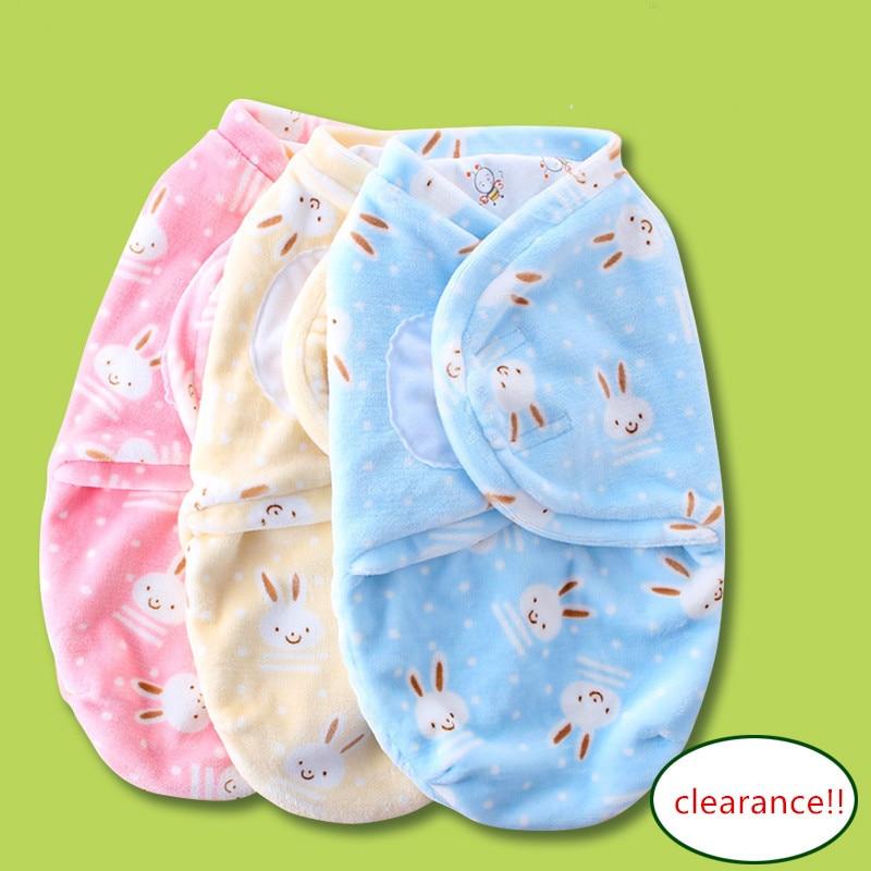 Clearance!!!Baby Swaddle Envelope Bag For Newborns Infant Sleeping Bags Feeding Blankets Baby Sleepsack Soft Wrap 0-3 Months