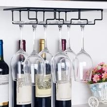 Support de verre à vin suspendu sous le support de verre à vin de meuble support de verre à vin