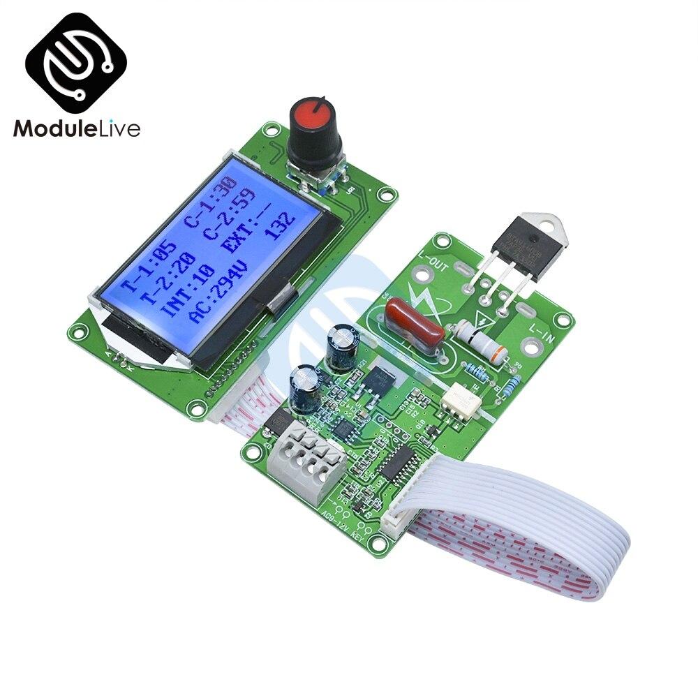 Image 4 - Цифровой ЖК электронный аппарат для сваркиАппараты точечной сварки    АлиЭкспресс