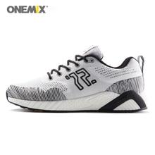 Onemix 2019 Men Running Shoes Women Sports Sneakers Unisex Jogging Sneakers Tranier for Outdoor Walking Trekking Jogging Shoes все цены