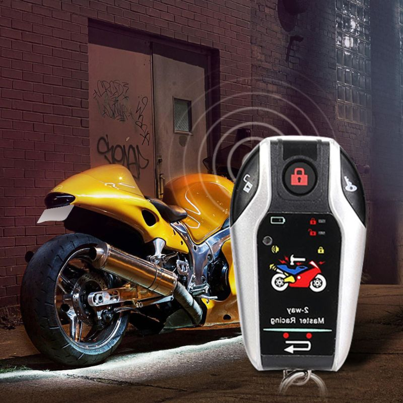12V Two Way Motorcycle Alarm Anti theft Security System With Microwave Sensor G6KC