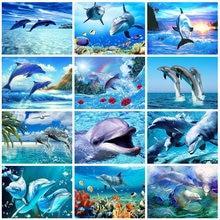 Набор для алмазной вышивки 5d «Дельфин»