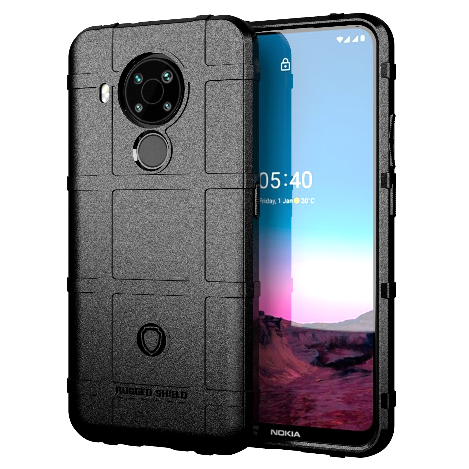 Case For Nokia 5.4 Heavy Duty Armor Rugged Shield Shockproof Soft TPU Cover For Nokia 5.4 TA 1333 TA 1340