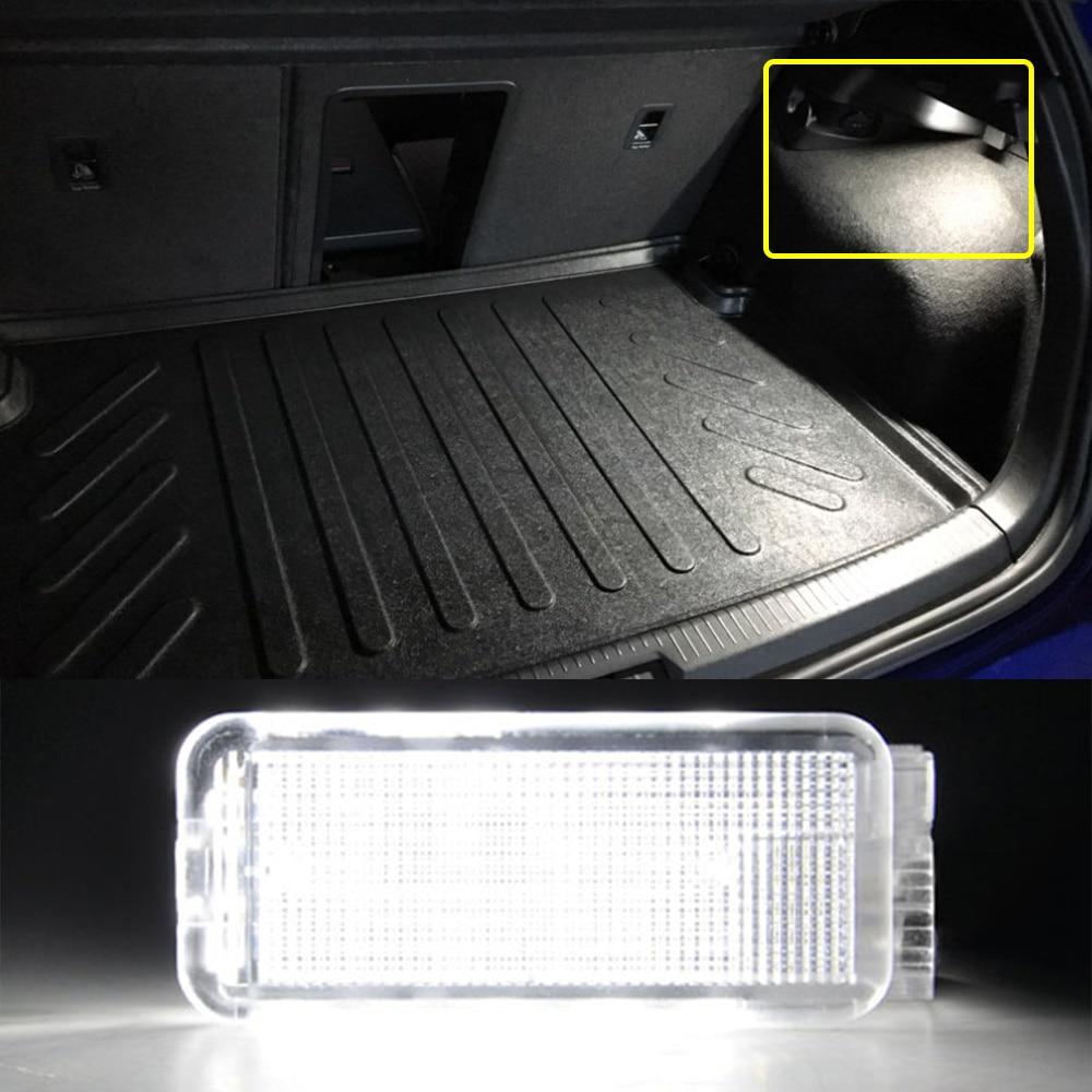 Для Peugeot 1007 206 207 306 307 308 3008 406 407 5008 607 806 12V светодиодный багажник Чемодан Подсветка салона сапоги подсветки перчаточного ящика лампа