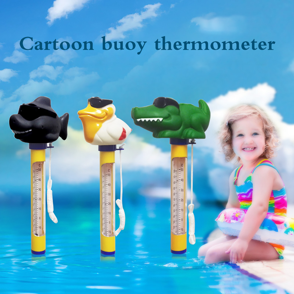 Pool Anti-corrosion Water Thermometer Sauna Digital Floating Thermometer