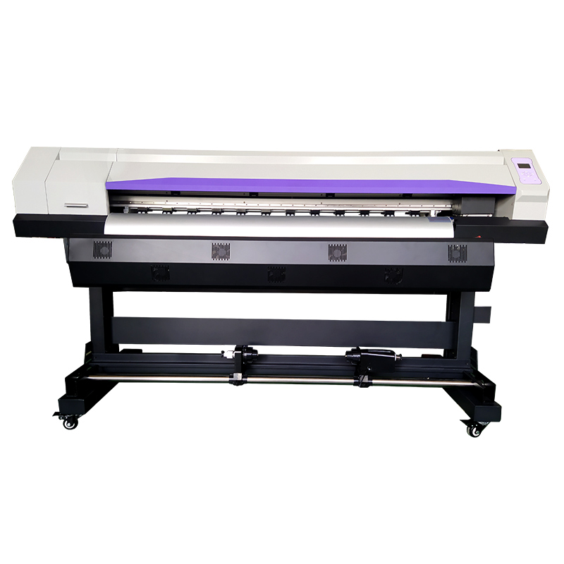 Kleine Eco Lösungsmittel Drucker dx5 druckkopf 1,6 m 2160dpi vinyl Druck Maschine