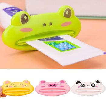 1 pc Cute Animal Plastic Toothpaste Squeezer Bath Toothbrush Holder Tube Rolling Holder Squeezer Toothpaste Dispenser Tool 2020 image