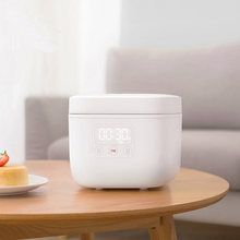 Electric Rice Cooker 1.6L Kitchen Mini Cooker Small Rice Cook Machine Intelligent Appointment LED Display(China)