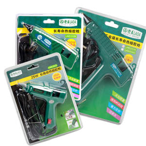 Image 5 - LAOA 25W/60W/100W/150W חם להמיס דבק אקדח מקצועי pistolet a colle מיני עבור מתכת/עץ עבודה מקל נייר סיכת ראש PU פרח