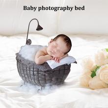 Новорожденная детская корзина для фотосъемки кровать месяц Ванна фотография мебель Небольшая Ванна подставки для домашнего декора стойки