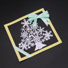 AZSG snowflake tree  Cutting Dies For DIY Scrapbooking Die Decoretive Embossing Stencial Decoative Cards Cutter