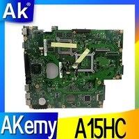 A15HC материнская плата для ноутбука ASUS A15HC REV: 2,0/REV: 2,1 Материнская плата 100% ТЕСТ ОК