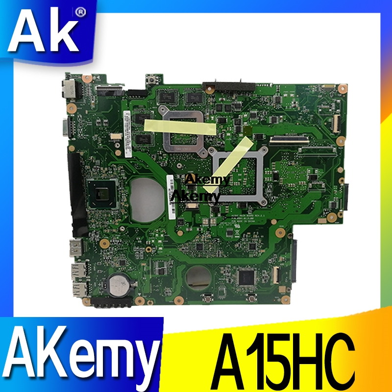 A15HC Laptop Motherboard For ASUS A15HC REV:2.0/REV:2.1 Mainboard 100% Test Ok