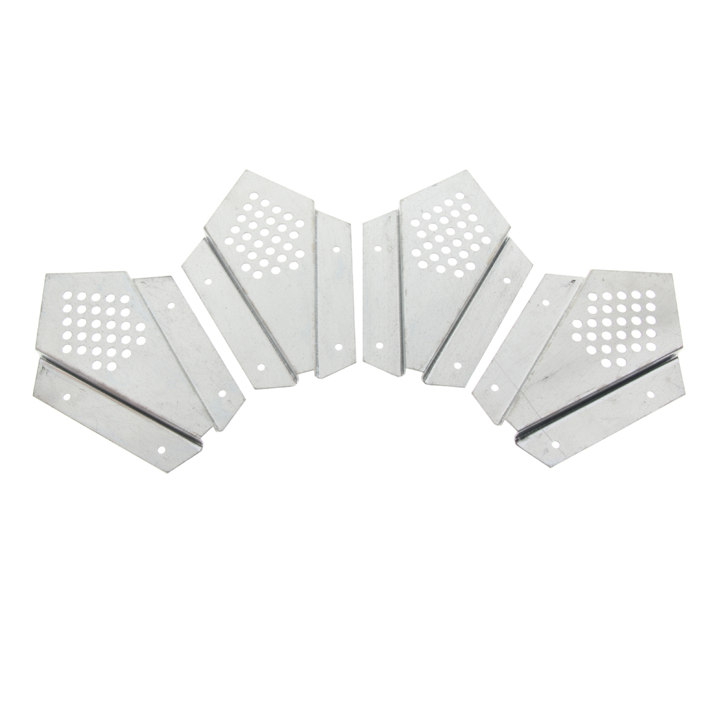 4Pcs/Set Stainless Steel Queen Bee Escaping Restrain Frame Prevention Anti-Run Tool