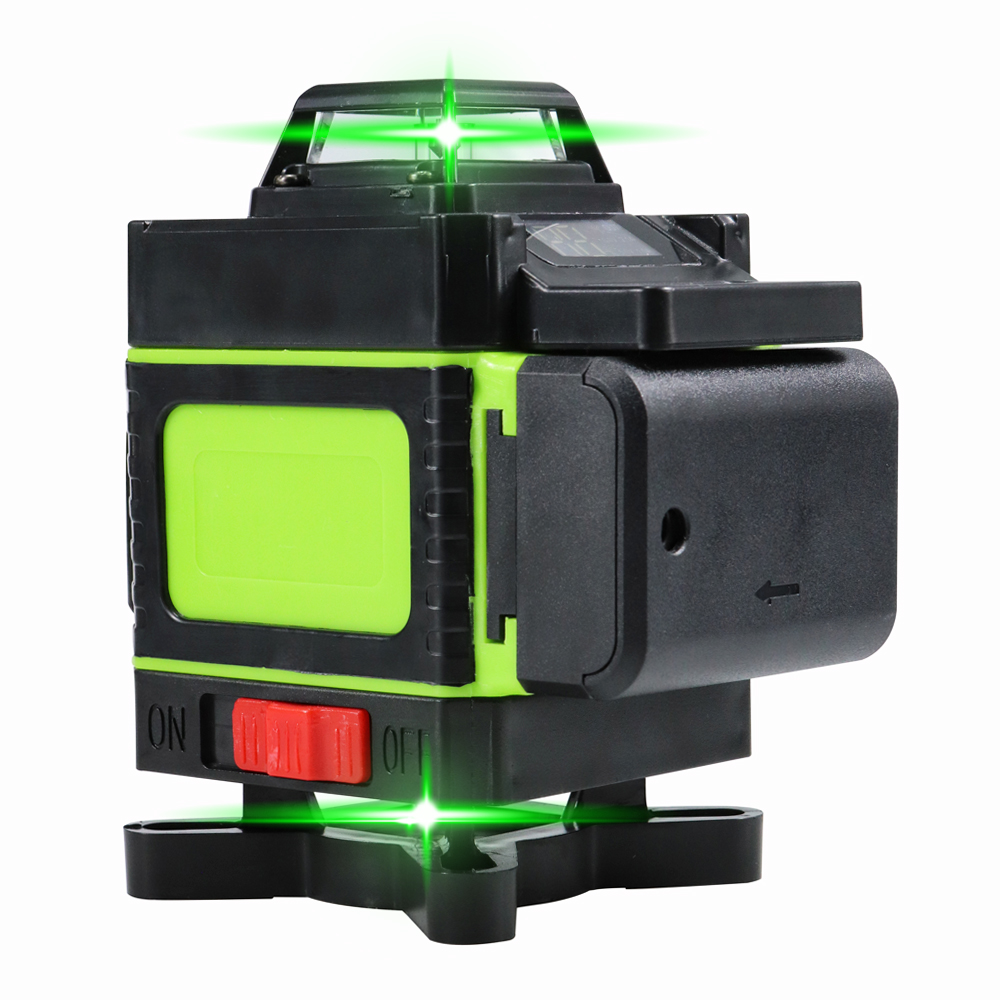 3d 4d green laser level 360 rotary Higher Visibility laser level 16 lines self leveling laser level 12 lines Indoors Outdoors