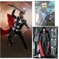 12inch Avengers 3 Iron Thor MMS474 Super hero Movable Boxed Model PVC Action Figures Toy Doll kids gift