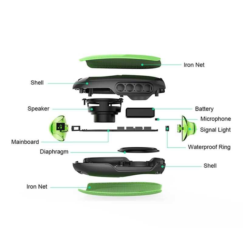 マンゴーワイヤレス Bluetooth スピーカー Mg X1 屋外ステレオスピーカーとマイクフックポータブル Ip54 防水サポートハンズフリー通話