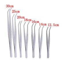 Tweezers Clip-Tool Medical-Repair-Tools Aquarium Stainless Steel Hot 1PC Elbow Clear