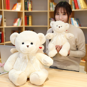 Quente nova qualidade rosa branca fragrância anjo urso de pelúcia brinquedo macio recheado dos desenhos animados animal teddy bear boneca presente dos namorados para meninas