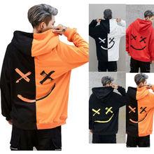 Winter Mens Hoodies Sweatshirt Hooded Jacket Coats Pullover