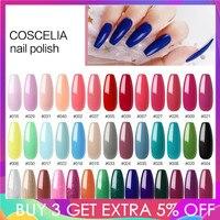 COSCELIA 40/80 Colors Gel Nail Polish Nail Kits For Nails Semi Permanent Soak Off Gel Polish Varnish UV Nail Set