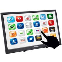 JOHNWILL 15 6 calowy Monitor do gier dotykowy typ C HD 1080P LCD IPS przenośny Monitor PC do HDMI Ps4 przełącznik Xbox Huawei telefon Laptop tanie tanio 16 9 CN (pochodzenie) 1920x1080 Dostępny w magazynie 178° 5 ms 15 6 Inch Touch Monitor 800 1 85° 300cd m 460 1 2017
