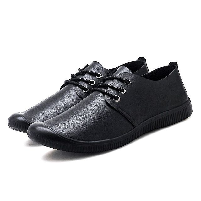мокасины мужские из экокожи повседневные туфли на плоской подошве фотография