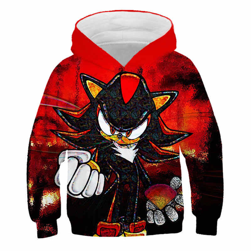 Summer Game Sonic The Hedgehog Children Cosplay Sonic Hoodie Boy And Anime Clothing Sweater Kids 3d Printing 2020 New Aliexpress