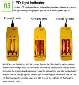 Image 5 - Высокая энергоэффективность и низкий саморазряд Перезаряжаемые 1,6 V AA AAA Ni Zn перезаряжаемый аккумулятор батарея с 2 Путевым интеллигентая (ый) зарядное устройство для батареи
