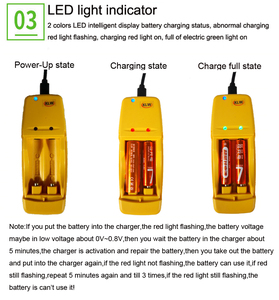 Image 5 - High energy efficiency and low self discharge Rechargeable 1.6V  AA  AAA  Ni Zn battery with 2 way intelligent battery charger