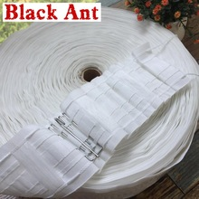 Curtain-Accessories Hook Rail-Pocket Multifunctional-Tape for White-Color Tape-Belt Rod