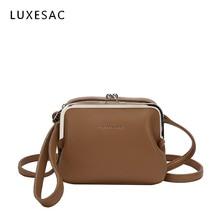 قفل مصمم حقائب عالية الجودة بولي Leather الجلود براثن النساء حقائب أنيقة حقيبة كتف صغيرة Bolsos Mujer دي ماركا Famosa 2020