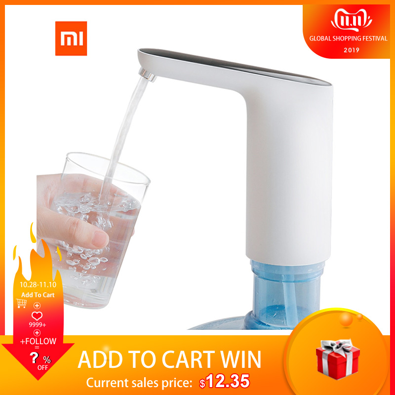 XIAOMI Mijia 3LIFE Water Pump Mini Touch Switch Automatic USB Wireless Electric Water Dispenser Rechargeable With USB Cable