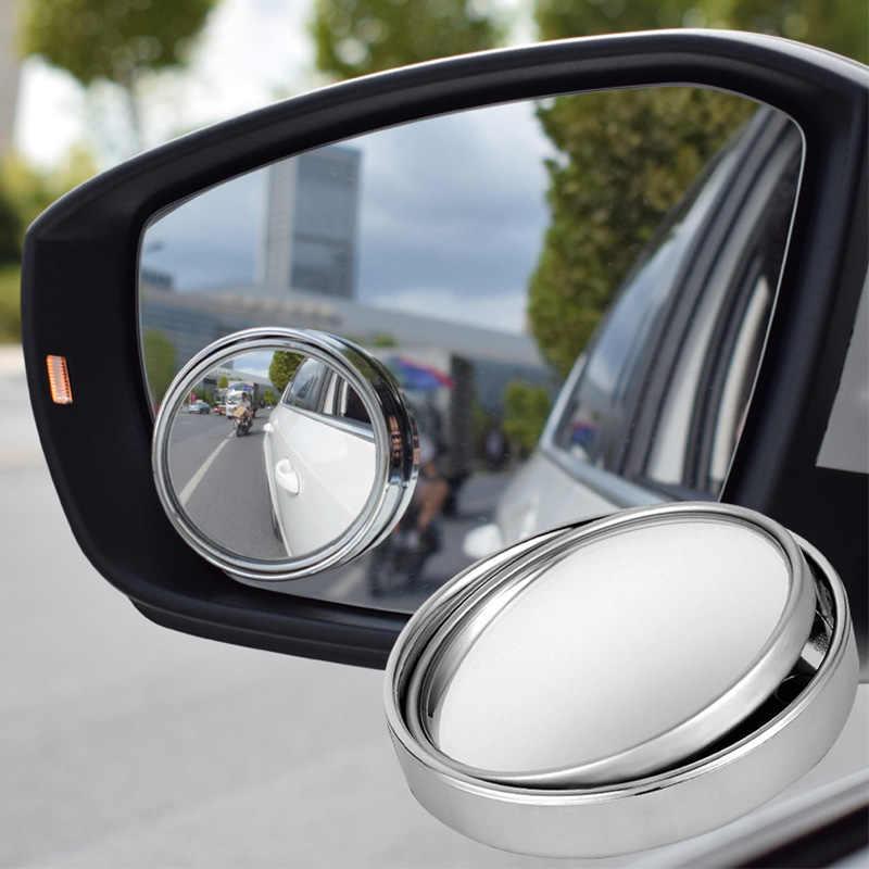 1 adet araba ayna 360 geniş açı yuvarlak dışbükey ayna otomobil araç yan kör nokta kör nokta ayna küçük yuvarlak dikiz ayna