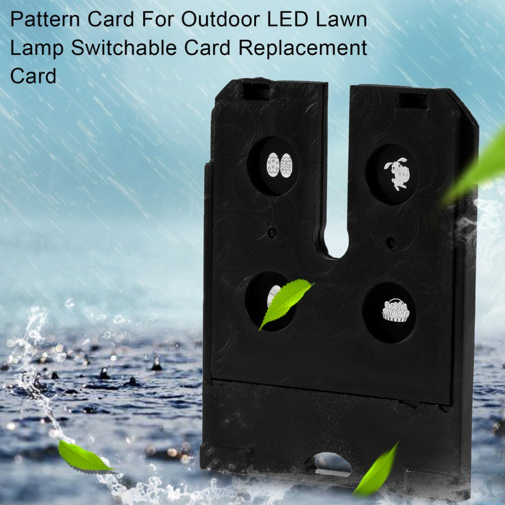 Pattern Card For Outdoor Christmas LED Lawn Lamp Switchable Replacement Pattern Change Card Party Decoration Card Only
