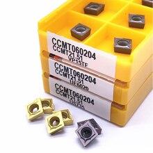 Набор токарных пластин, твердосплавные втулки CCMT060204 UE6020 VP15TF US735, CCMT 060204, 10 шт.