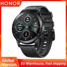 Honor – montre connectée Magic Watch 2, Bluetooth 5.1, étanche, avec suivi de la fréquence cardiaque, 14 jours d'autonomie, appels téléphoniques, Version internationale