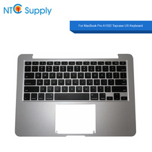 NTC Supply Topcase US Keyboard For MacBook Pro 13.3 inch A1502 2013 2014 2015 Year 100% Tested Good Function